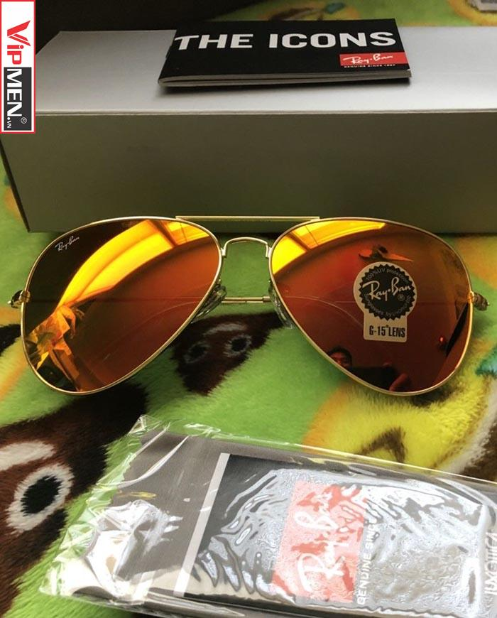 Kính Ray Ban RB3026-Orange size 62